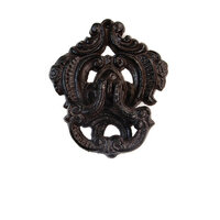 Re-Design - Cast Iron Knocker - Serenity Flourish Vintage Knocker