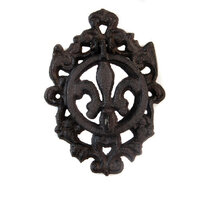 Re-Design - Cast Iron Knocker - Fleur De Lis II Vintage Knocker