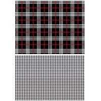 Re-Design - Transfers - Gingham Black