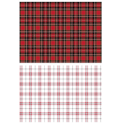 Re-Design - Transfers - Gingham Red