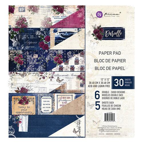 Prima - Darcelle Collection - 12 x 12 Paper Pad
