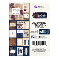 Prima - Darcelle Collection - 3 x 4 Journaling Cards