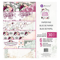 Prima - Pretty Mosaic Collection - 12 x 12 Paper Pad