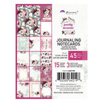 Prima - Pretty Mosaic Collection - 3 x 4 Journaling Cards