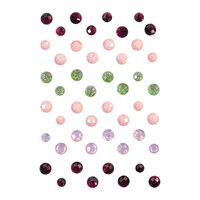 Prima - Pretty Mosaic Collection - Say It In Crystals - Self Adhesive Jewels