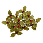 Prima - Christmas in the Country Collection - Flower Embellishments - Merry Twilight