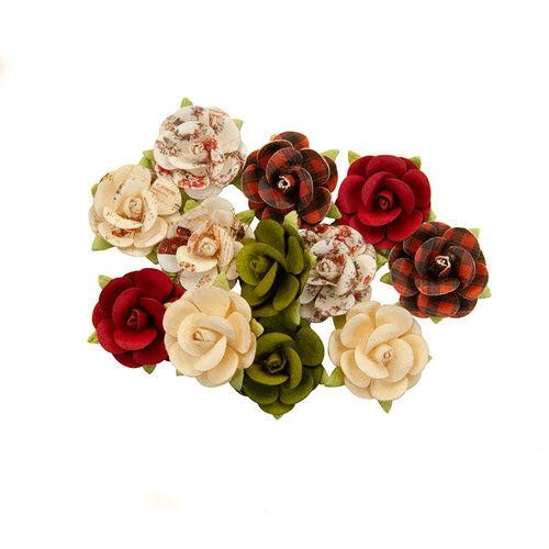 Prima - Christmas in the Country Collection - Flower Embellishments - Nutcracker