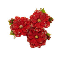 Prima - Christmas in the Country Collection - Flower Embellishments - 25th