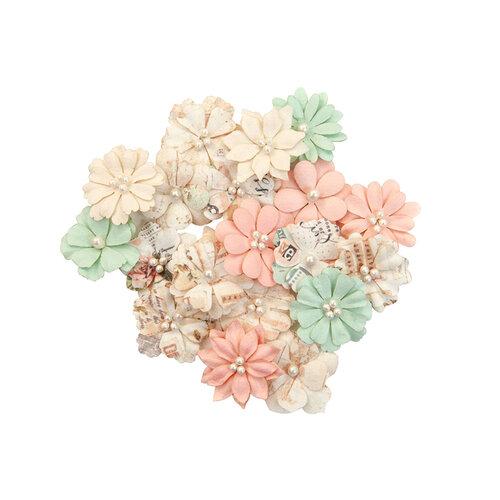 Prima - Apricot Honey Collection - Flower Embellishments - Little Bites
