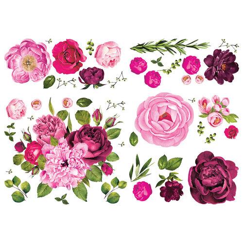 Re-Design - Transfers - Lush Floral I