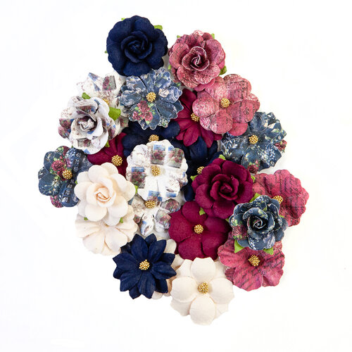 Prima - Darcelle Collection - Flower Embellishments - Lost Memories