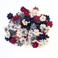 Prima - Darcelle Collection - Flower Embellishments - Little Steps