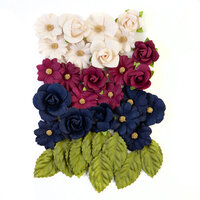 Prima - Darcelle Collection - Flower Embellishments - Sweet Notes