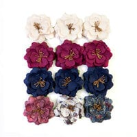 Prima - Darcelle Collection - Flower Embellishments - Beautiful Glow