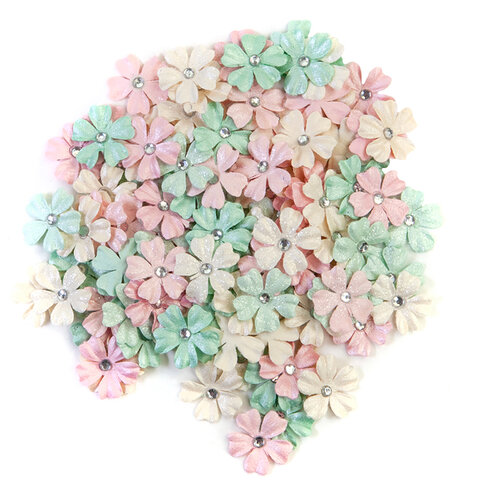 Prima - Dulce Collection - Flower Embellishments - Magical Lights