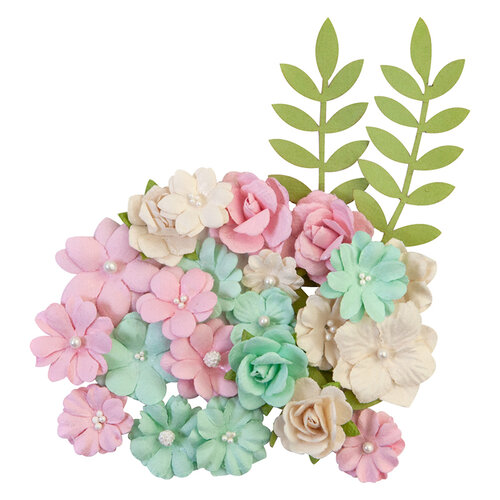 Prima - Dulce Collection - Flower Embellishments - Sweet Treats
