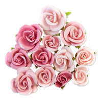 Prima - Dulce Collection - Flower Embellishments - Cotton Candy