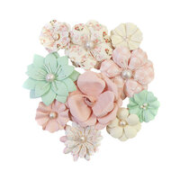 Prima - Dulce Collection - Flower Embellishments - Cupcakes