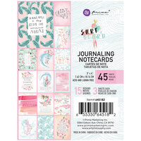 Prima - Surfboard Collection - 3 x 4 Journaling Cards