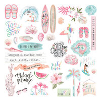 Prima - Surfboard Collection - Ephemera with Foil Accents