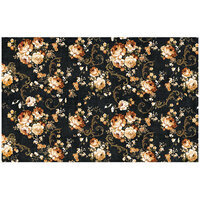 Re-Design - Decoupage Decor Tissue Paper - Dark Floral