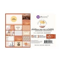Prima - Golden Desert Collection - 4 x 6 Journaling Cards