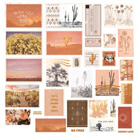 Prima - Golden Desert Collection - Ephemera 2