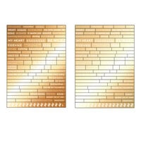 Prima - Golden Desert Collection - Word Stickers