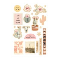 Prima - Golden Desert Collection - Wood Embellishments