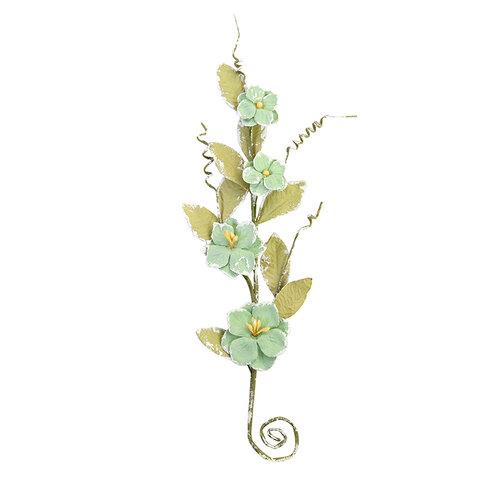 Prima - Pretty Mosaic Collection - Flower Embellishments - Aventurine