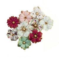 Prima - Pretty Mosaic Collection - Flower Embellishments - Serpentine