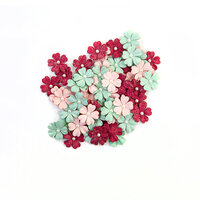 Prima - Pretty Mosaic Collection - Flower Embellishments - Carnelian