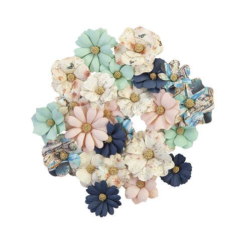 Prima - Capri Collection - Flower Embellishments - Mare Verde