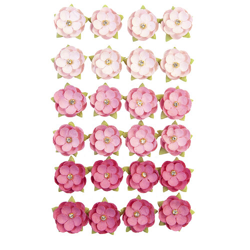Prima - Surfboard Collection - Flower Embellishments - Pink Beach