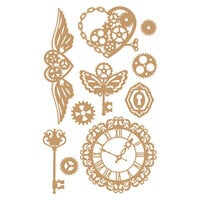 Prima - Chipboard Embellishments - Mechanical Dreams