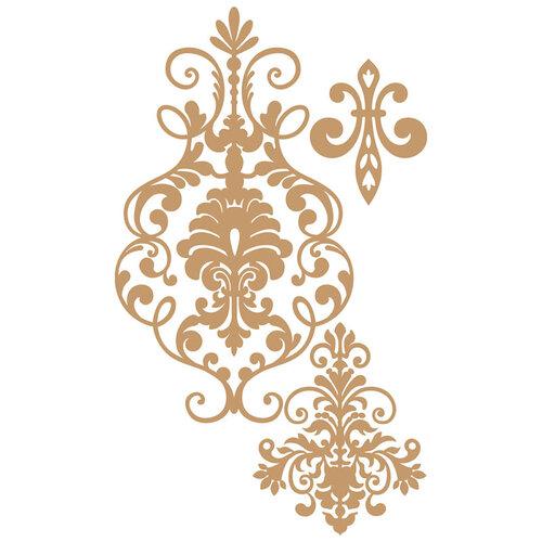 Prima - Chipboard Embellishments - Elegant Damask