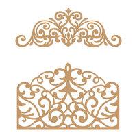 Prima - Chipboard Embellishments - Flourish Gate