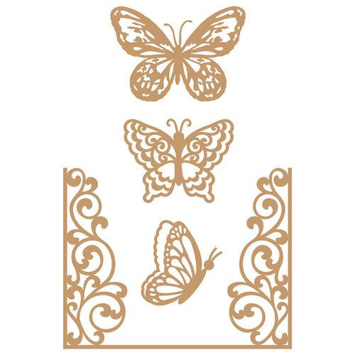 Prima - Chipboard Embellishments - Butterfly Flight