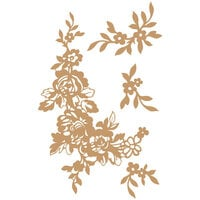 Prima - Chipboard Embellishments - Beautiful Fleur