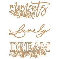 Prima - Chipboard Embellishments - Words to Live By II