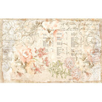 Re-Design - Decoupage Decor Tissue Paper - Floral Parchment