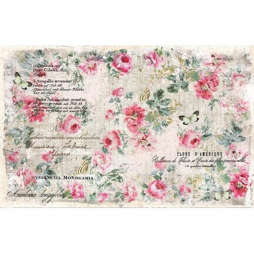 Re-Design - Decoupage Decor Tissue Paper - Floral Wallpaper