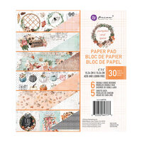 Prima - Pumpkin and Spice Collection - 6 x 6 Paper Pad