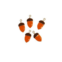 Prima - Pumpkin and Spice Collection - Enamel charms