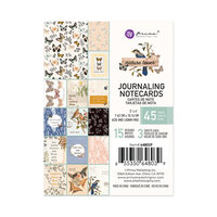 Prima - Nature Lover Collection - 3 x 4 Journaling Cards