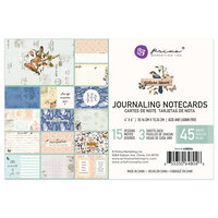 Prima - Nature Lover Collection - 4 x 6 Journaling Cards