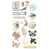 Prima - Nature Lover Collection - Puffy Stickers
