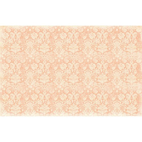 Re-Design - Decoupage Decor Tissue Paper - Peach Damask