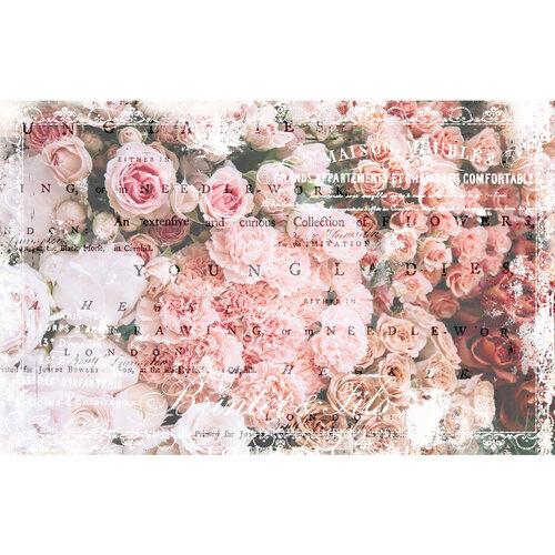 Re-Design - Decoupage Decor Tissue Paper - Angelic Rose Garden