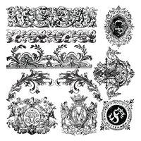 Re-Design - Clear Cling Decor Stamps - Chateau De Saverne